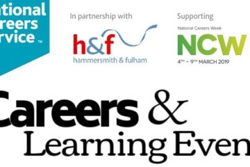 careers and learning event at fulham library job fair
