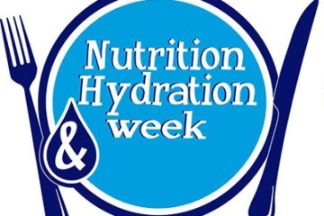 nutrition and hydration week logo